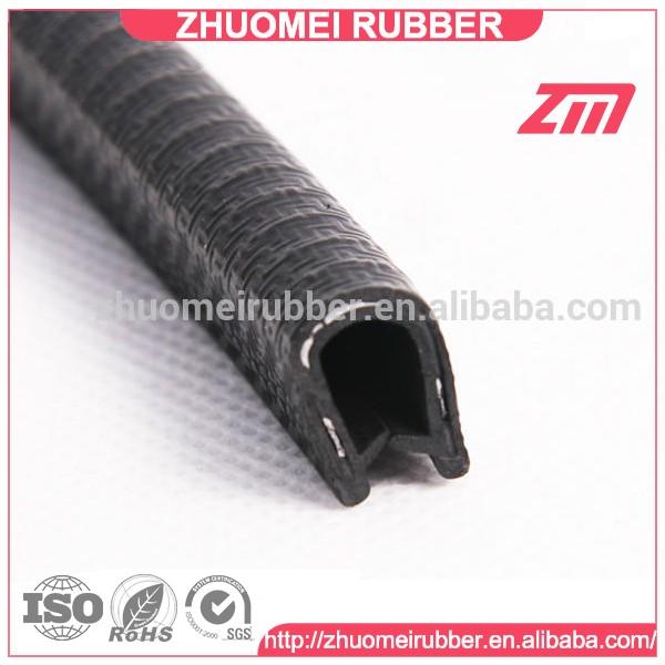 U Shaped Metal Insert Plastic Rubber Edge Seal Strip Buy