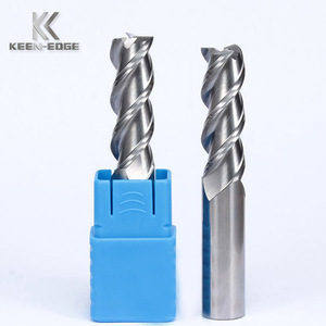 professional manufacture high speed CNC milling tools 3 flutes aluminum endmill