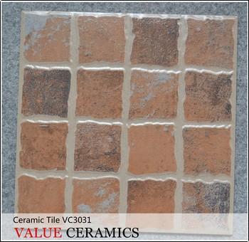 Brick Look Glazed Ceramic Floor Tile Tiles