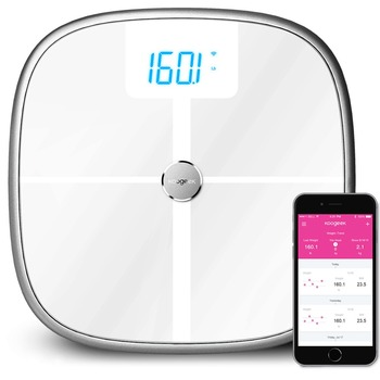 Wireless Smart Bathroom Scale For Measuring 8 Body Composition Health Data