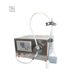 semi automatic 10ml/30ml liquid filler machine mall scale bottle filling machine