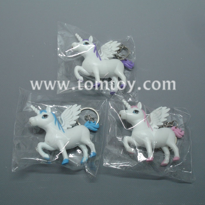 LED Light up Unicorn Key Chain