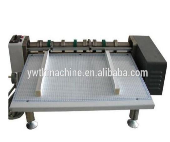Multifunctionele Semiauto Hand Fed Papier Rillen Machine