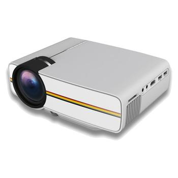 Hot Newest Arrive YG400 Multimedia Portable Mini LED Projector 1000 Lumens home theater