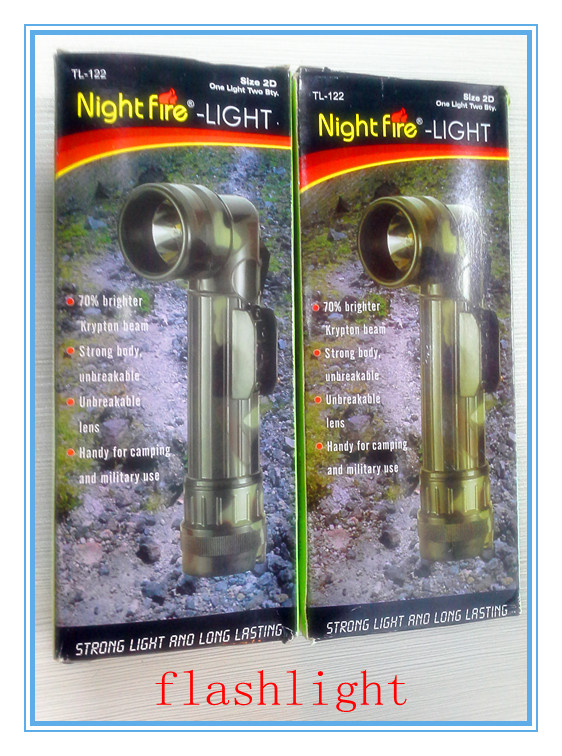 R2 3 Color Mode Tactical Flashlight Night fire-Light
