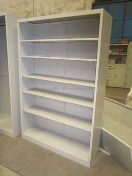 Steel Metal Open Shelves Shelf Bookcase