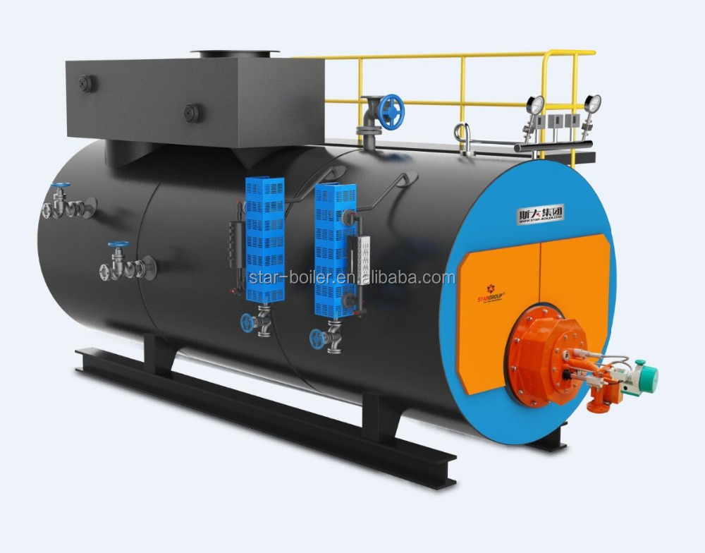 20 ton China professional boiler manufacturer condensing boiler gas fired steam boiler economizer