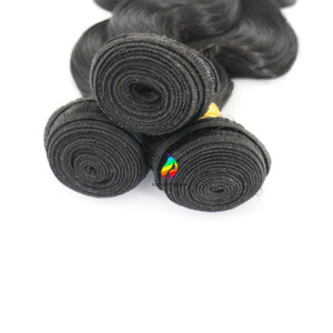 Chinese Factory Hot Sale human hair dubai wholesale market body wave synthetic weft 33# color for