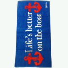 Hot selling 100% cotton printed customized design private label beach towel