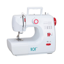 VOF FHSM-700 zig zag jeans leather automatic buttonhole mini overlock domestic maquinas de coser sewing machine