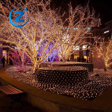 China OEM 28M 300L high quality glitter color changing decorative wireless led spiral rope white outdoor christmas lighting tree