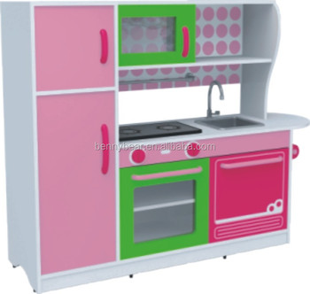 Children Wooden Role Play Toys Kitchen Play Set, View kids ...