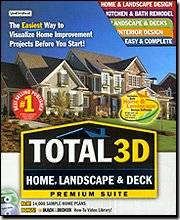 Individual Software Total 3d Home Landscape & Deck Premium Suite Easy-To-Use Popular