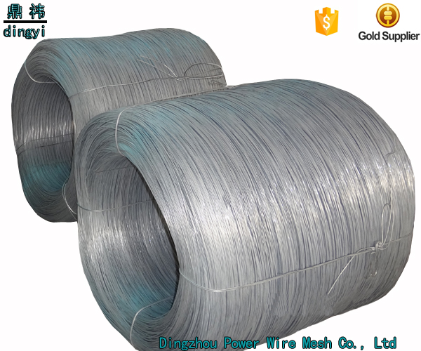 China Factory Direct Electro Galvanized Iron Wire with Plastic Spindle For Wire
