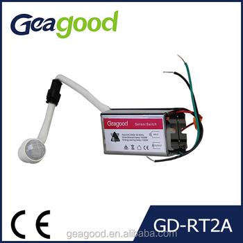 Geagood Outdoor Light Sensor Switch Motion Light Switch