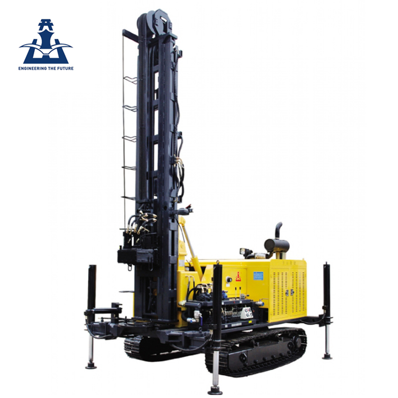 High quality trailer mounted water well drilling rigs 300m for sale