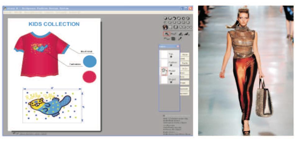 3d Textile Fashion Design System Garment Cad Software
