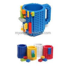 GOOD QUALITY YIWU wholesae Creative LEGO DIY Building Blocks Cup Office Water MUG Assembling Cup