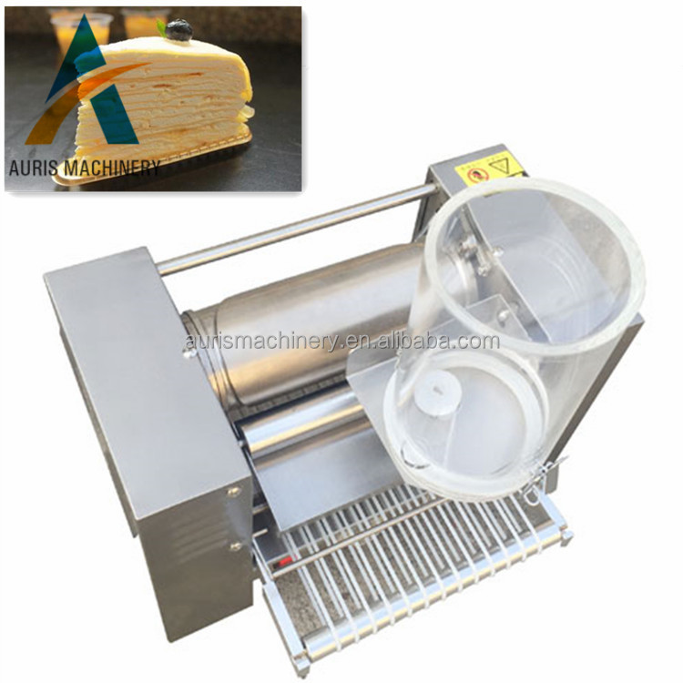 Durian Mille Crepe Cake machine automatic layer cake making machine for sale