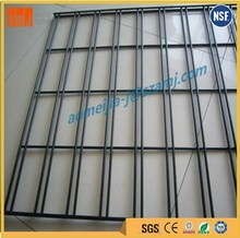 AMJ professional 0.55mm 6*6 heavy gauge welded wire mesh gridwal panel
