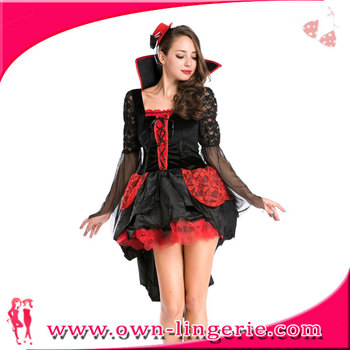 Halloween Party Kleding.Nachtclub Podium Kostuum Vampire Queen Kostuum Halloween Party Kostuum Vicieuze Duivel Jurk Rollenspel Kleding Buy Vampire Devil Kostuum Vicieuze