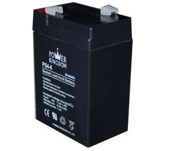 6V SLA Rechargeable battery 4AH