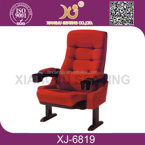 lecture room cinema chairs with cup holder cinema chair auditorium 5d cinema chair XJ-6819
