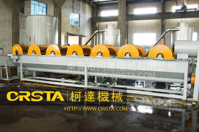 GUANGZHOUR Fast delivery PET plastic bottle/flakes washing/recycling line/machine