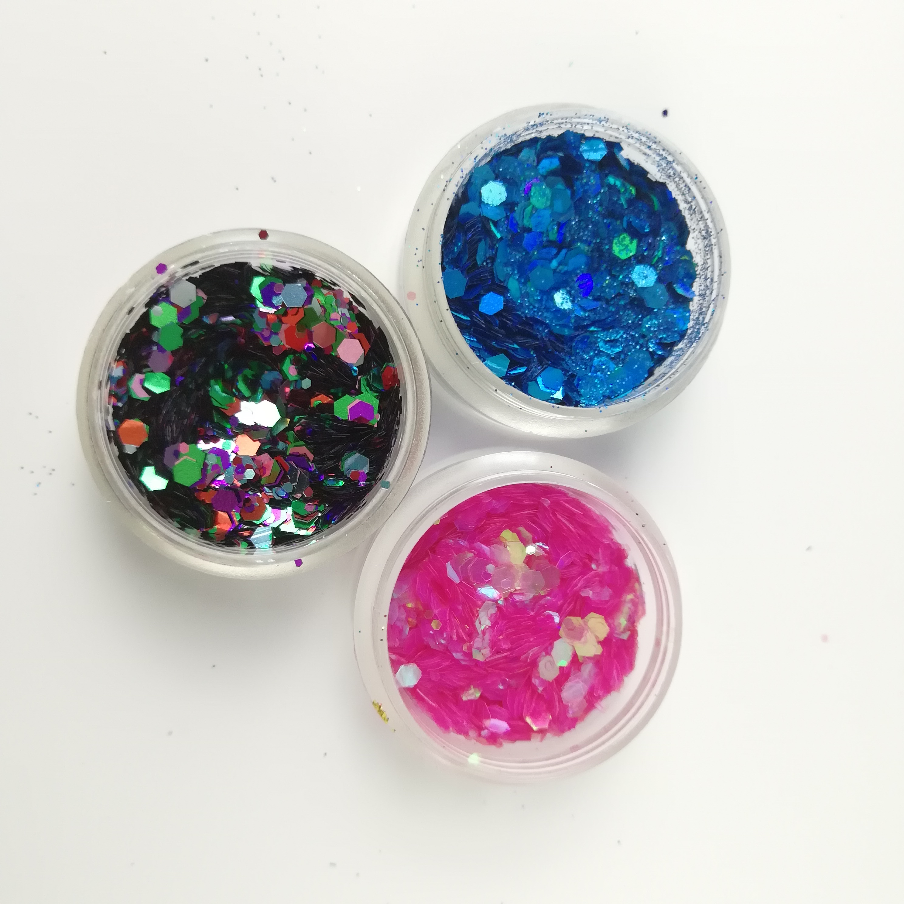Wholesale glitter shimmer powder for cosmetics face paint makeup grade metallic glitters