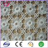 High quality white african guipure embroidery lace fabric