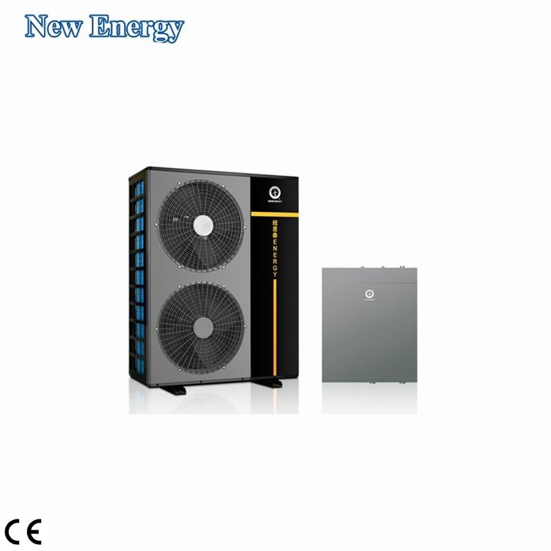 R410A di Fonte di Aria Warmepompe 10KW 12KW 16KW 18KW 20KW Cina Heatpump Aria per Dividere L'acqua Inverter a Pompa di Calore