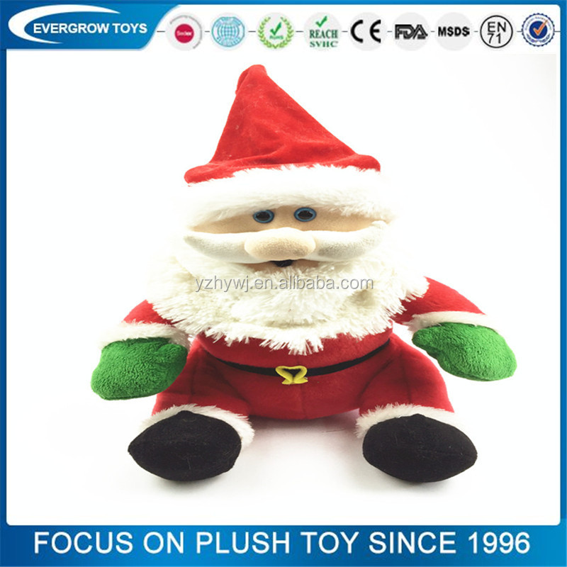 custom plush santa claus animated singing christmas toys buy animated singing christmas toyssanta claus animated singing christmas toyscustom plush - Singing Christmas Toys