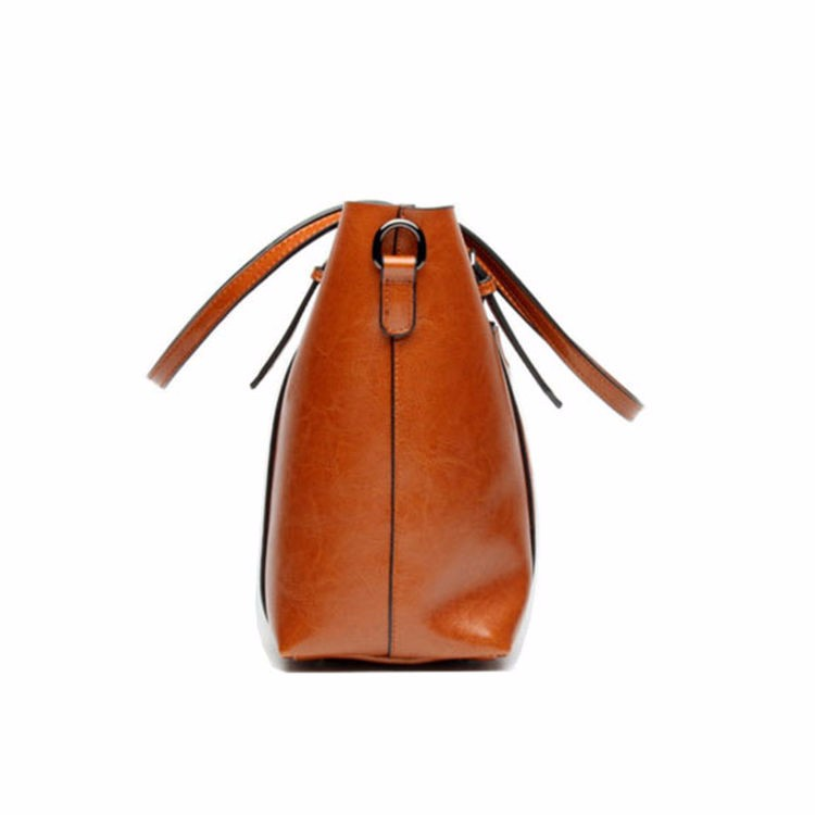 Gionar Factory OEM Products Elegance Women Italian Leather Handbags Bags dae8ac26b6147