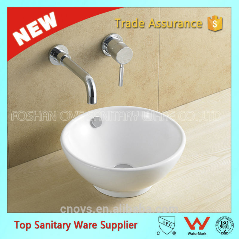 ovs item A8001 hot sale sanitary ware large bathroom basin