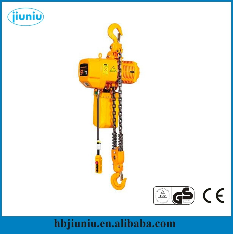 HSY 3ton 220v Electric chain hoist dubai/ electric wire rope hoist price good