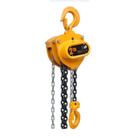 2 ton manual chain hoist 3 ton 10 ton safety factor chain hoist