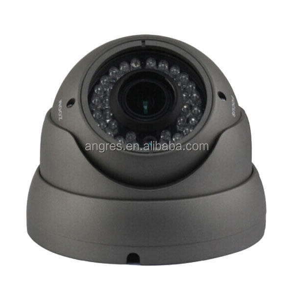 Vandal proof Full HD AHD 960P 1.3 megapixel Varifocal IR dome cctv camera IP66 weatherproof