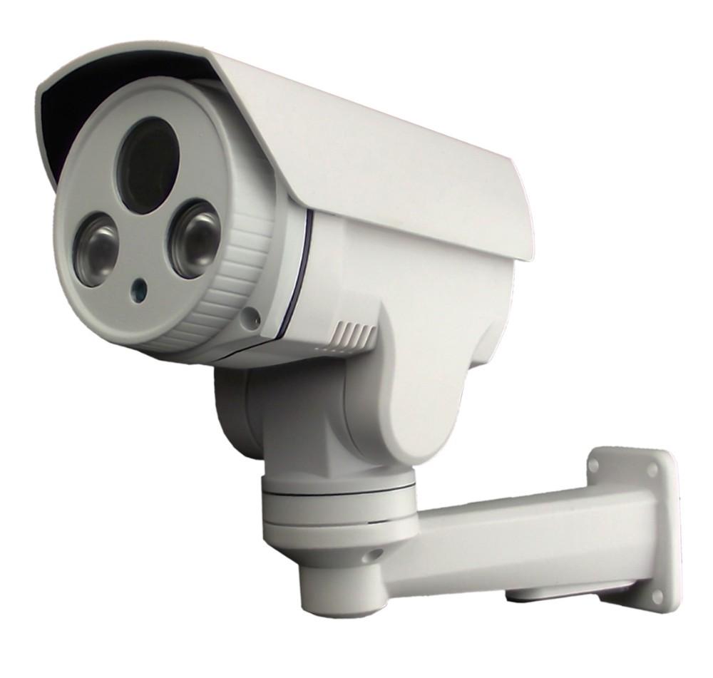 Professional bullet PTZ 4X/10X optical zoom 4.0MP Mini auto tracking PTZ IP Camera
