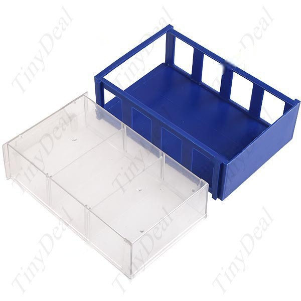 EasyLife Drawer Style Plastic Storage Box Case for Electronics Components Subassembly Parts Tools Chips CTL-35158