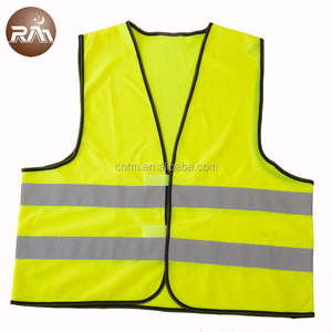 EN ISO 20471 standard hot sell high visibility promotional safety vest