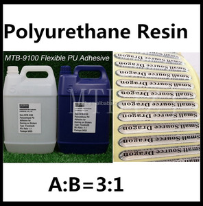 For Label Doming Water based PU resin Polyurethane Adhesive for Doming Label Sticker