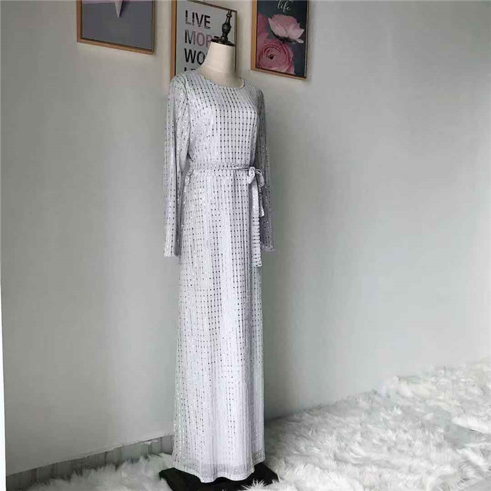 2019 Fashion Crazy Selling Muslim Soft Crepe long Dress