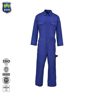 6c7938c88b00 Polycotton twill royal blue workwear coverall