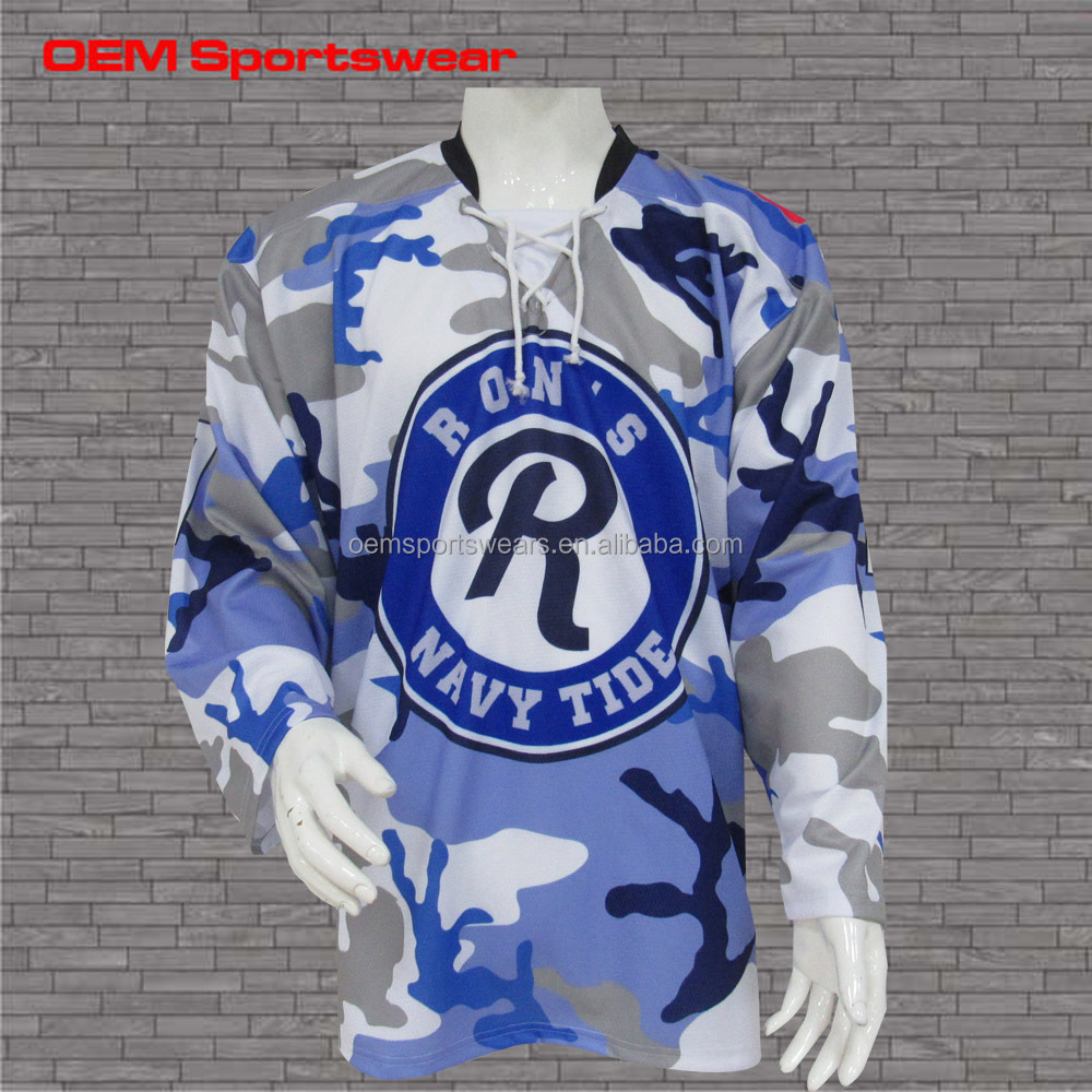 Cheap Team Sublimation Printing Custom Reversible Hockey Jerseys ... acedd3f93
