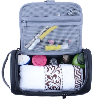 47d78a485e33 Women and men Large Waterproof Makeup bag Nylon Travel Cosmetic Bag  Organizer Case Necessaries Make Up