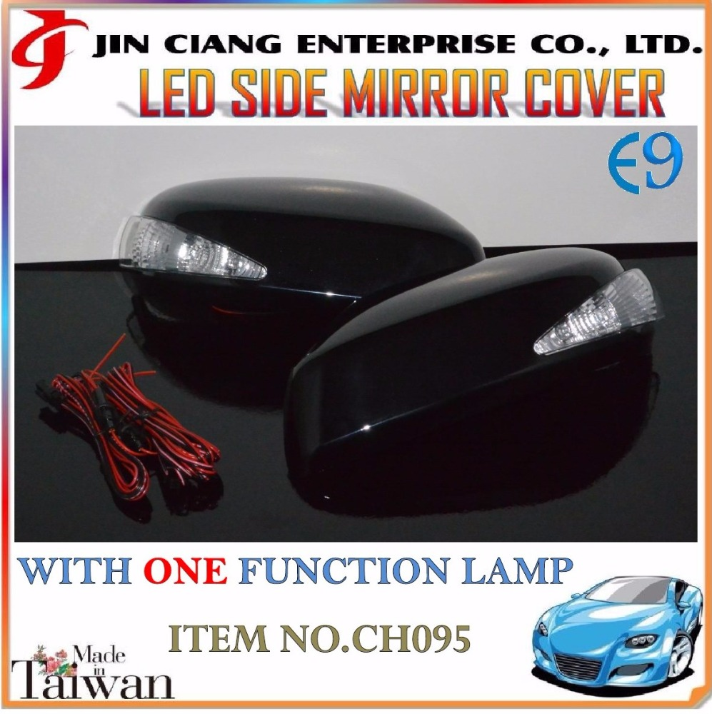 Body Kit products LED SIDE REAR VIEW MIRROR COVER FOR HONDAA CITY