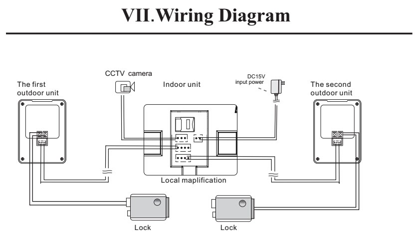 Wiring Video Intercom - 18.19.buchner-sprachnstleistungen.de • on 4 wire dryer diagram, 4 wire doorbell diagram, 4 wire electrical diagram, 4 wire telephone line diagram, 4 wire ceiling fan diagram,