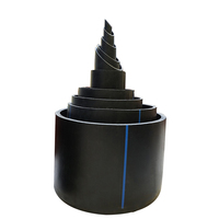 Pressure PN 20 outer diameter 110mm inner diameter 96mm thickness 7mm HDPE steel wire skeleton water supply pipe
