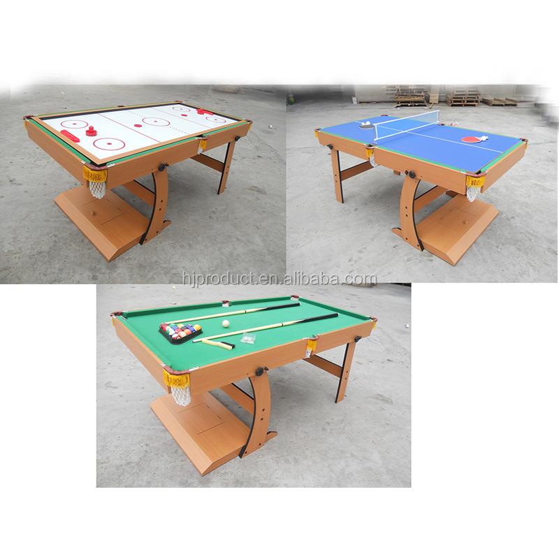 3 Plegable Barato Multi 1 De Juego plegable Juego En Función Pie Mesa Fabricación Buy Pingpong Piscina Y de Con c45Aq3jSRL