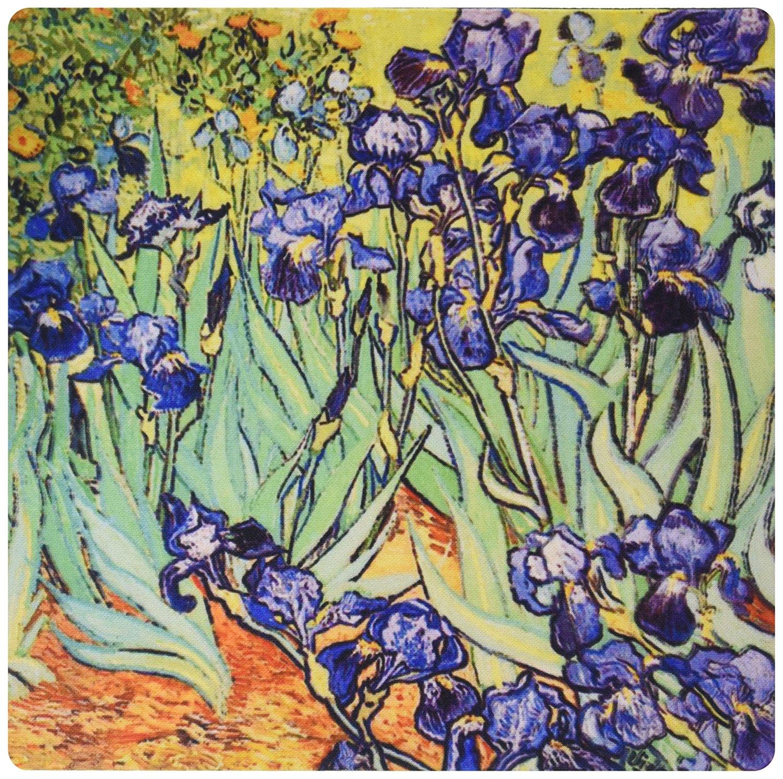 Buy 3drose irises by vincent van gogh 1889 purple flowers iris 3drose irises by vincent van gogh 1889 purple flowers iris garden copy of famous painting by izmirmasajfo